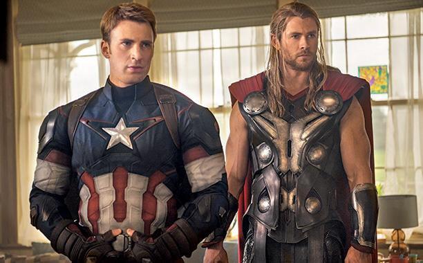 Captain America, Thor