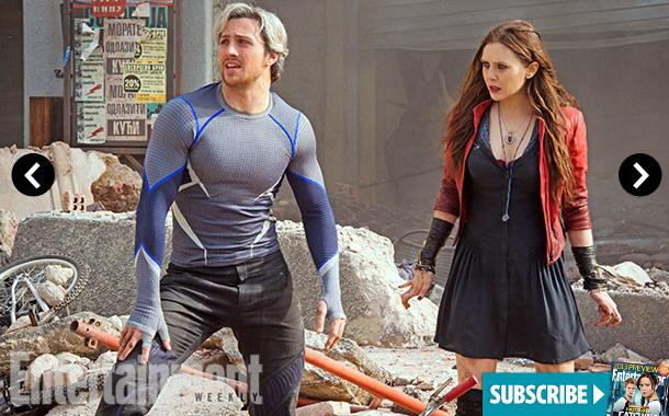 Quicksilver, Scarlet Witch