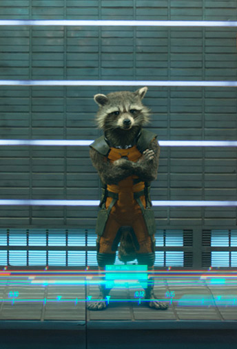 Rocket Raccoon (Bradley Cooper)