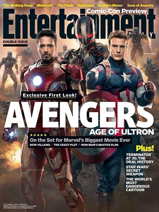 Ultron, Captain America, Iron Man
