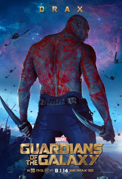 Drax the Destroyer (Dave Bautista)
