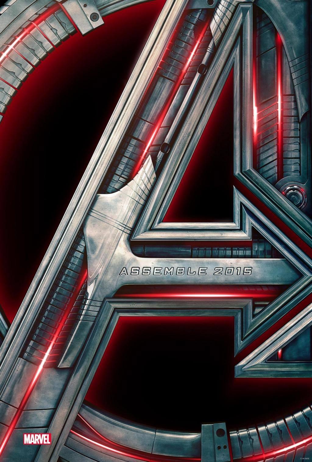 Avengers 2 oficiálny plagát