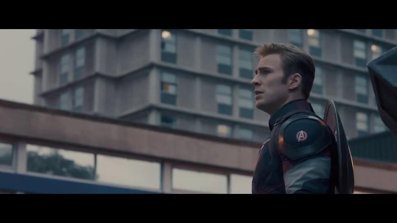Capitan Amerika a logo Avangerov
