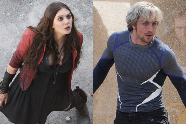Scarlet Witch a Quicksilver vo filme