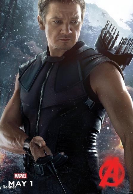 Jeremy Renner -Hawkeye