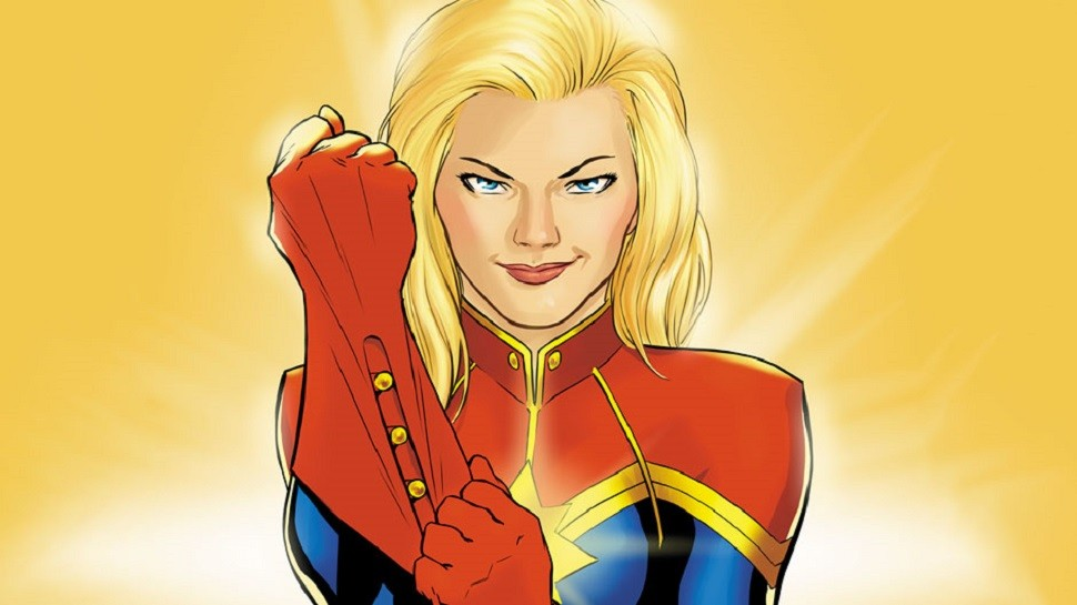 Ms Marvel-Captain Marvel