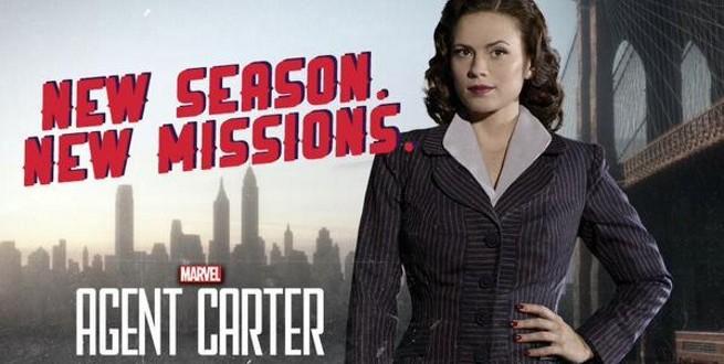 Agent Carter druhá séria