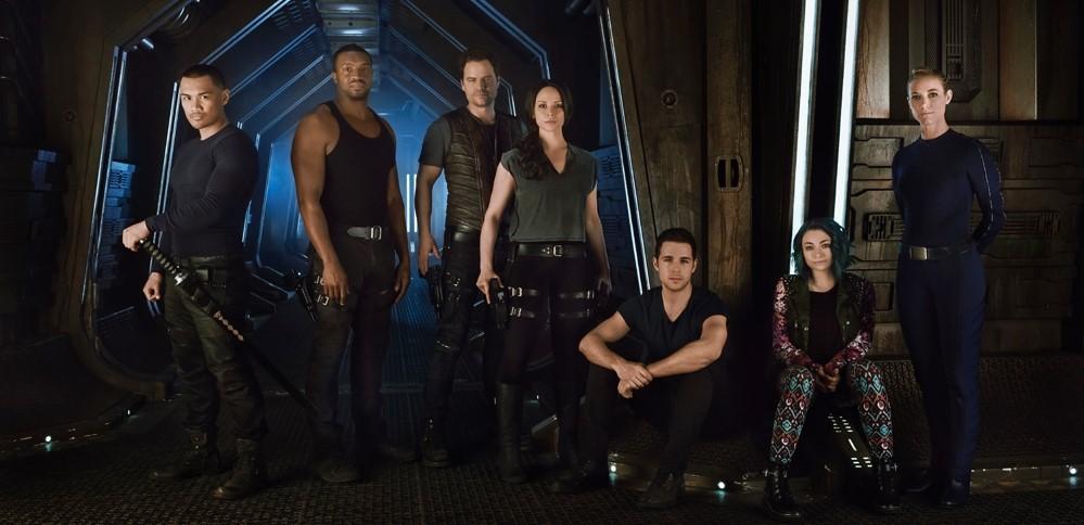 Dark Matter posádka