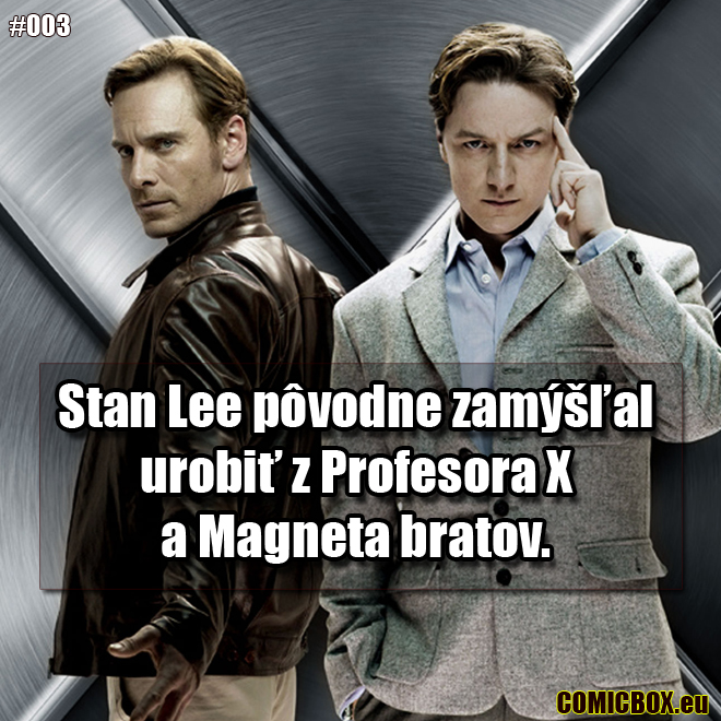 003 – Magneto a Profesor X