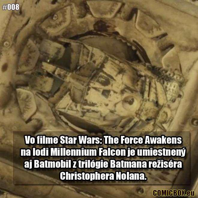 008 - Batmobile na Millennium Falcon