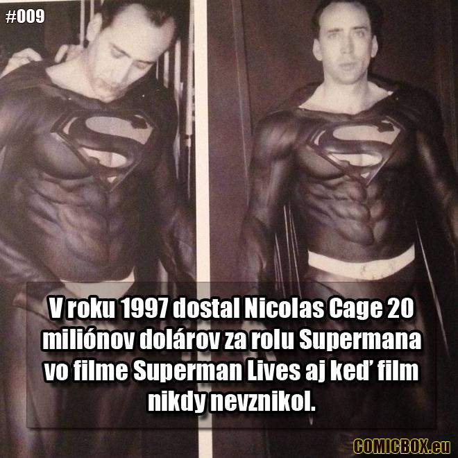 009 - Nicholas Cage Superman