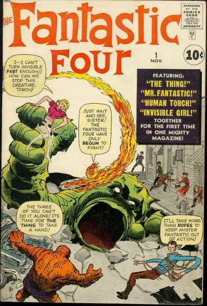 Fantastic Four number one