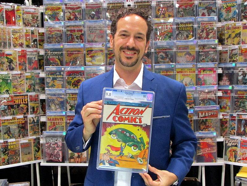 Vincent Zurzulo a jeho Action Comics #1 ohodnotený na 9.0