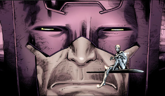 galactus a silver surfer