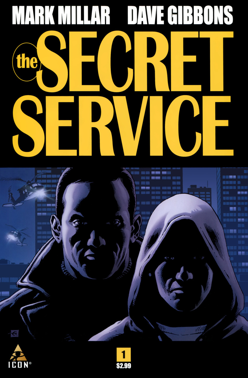 the secret service comics