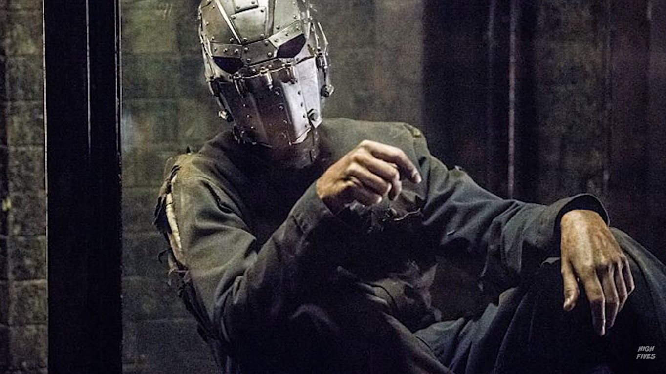 Man in the iron Mask flash not dicaprio