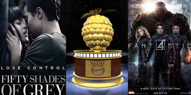 razzie large F4 fifty shades of grey