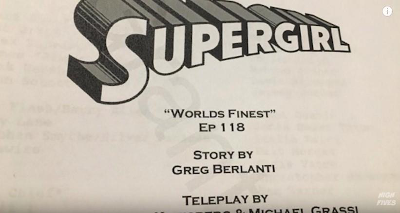 script supergirl 118