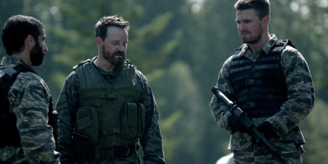 Ryan-Robbins-and-Stephen-Amell-in-Arrow-Season-4