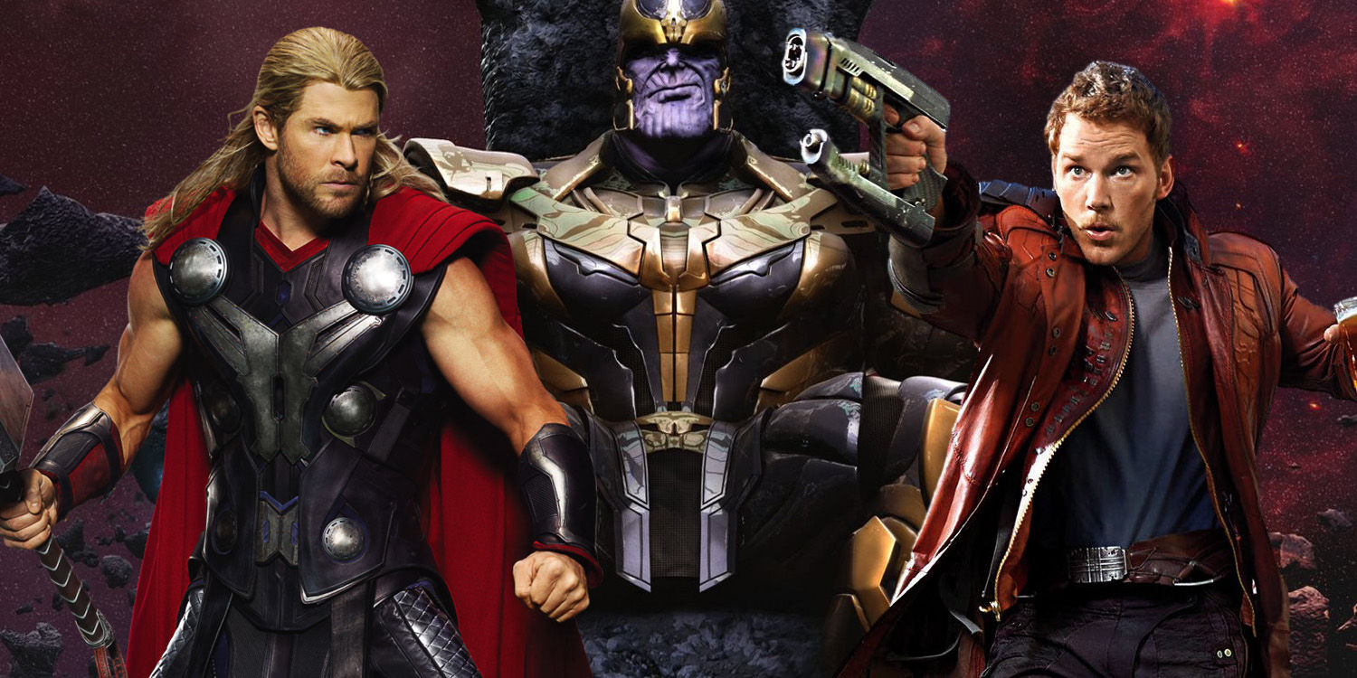 Thanos-Thor-Star-Lord