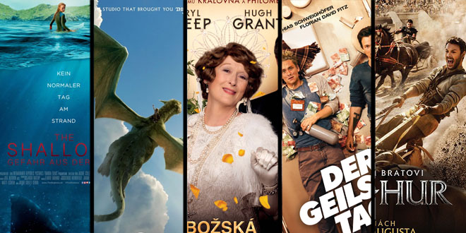 Filmy v 34. týždni