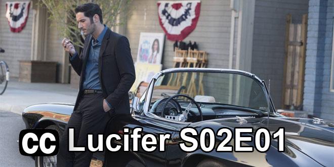 Lucifer S02E01 Slovenské titulky
