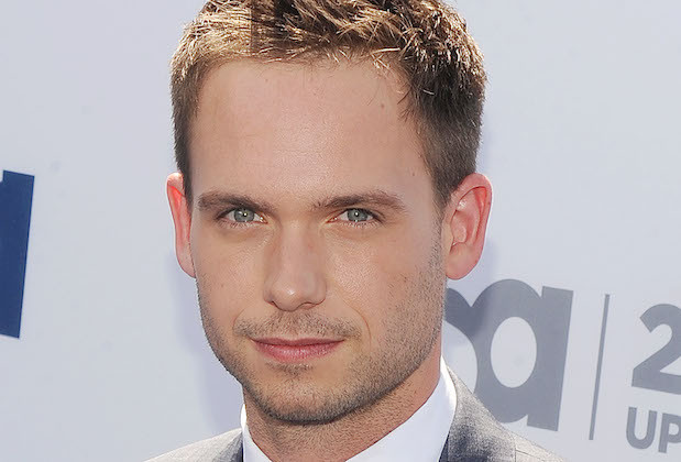 Mandatory Credit: Photo by Broadimage/REX/Shutterstock (2344355w) Patrick J. Adams USA Upfront Presentation, New York, America - 16 May 2013