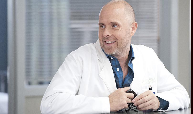 Paul Schulze as Eddie in Nurse Jackie (Season 6, Episode 1). - Photo: David M. Russell/SHOWTIME - Photo ID: nursejackie_601_.R