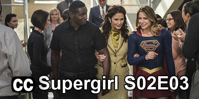 Supergirl S02E03 Slovenské titulky