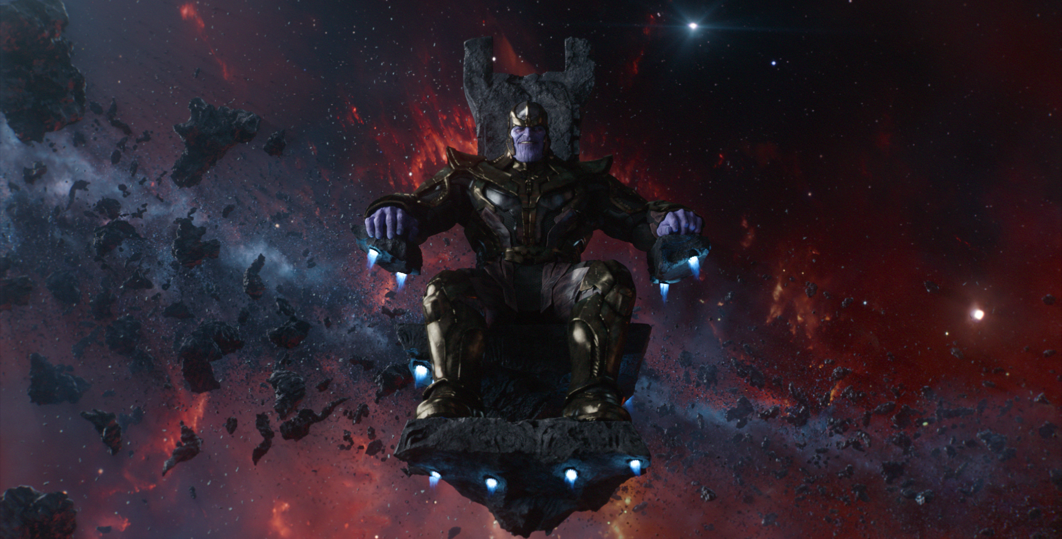 Marvel's Guardians Of The Galaxy..Thanos (voiced by Josh Brolin)..Ph: Film Frame..©Marvel 2014