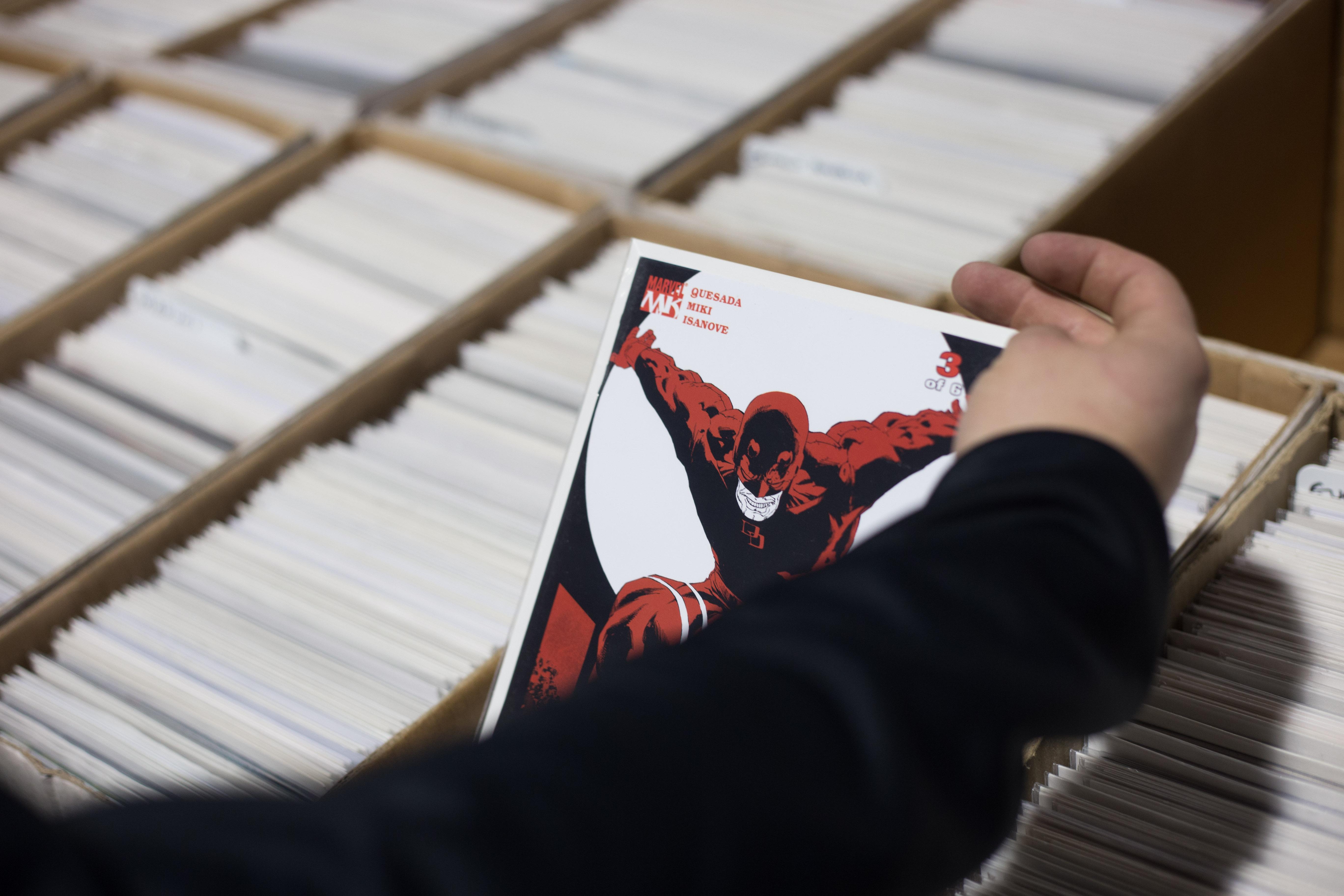 Nákupom komiksov sa človek nevyhol (Foto: PoP-Cult Magazín)