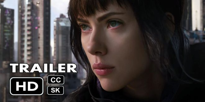 Film Ghost In The Shell dostáva druhý trailer!