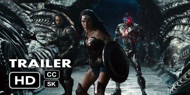 Warner Bros. odhaľujú prvý oficiálny trailer na Justice League!