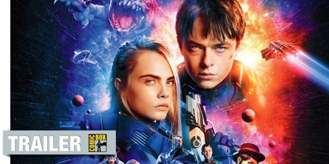Posledný trailer k filmu Valerian a Mesto tisícich planét