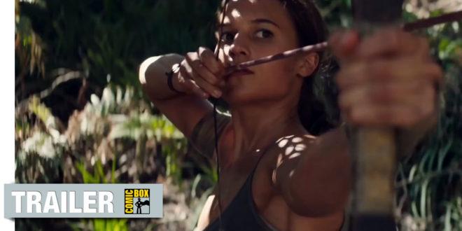 Druhý trailer filmu Tomb Raider pôsobí o čosi lepšie!