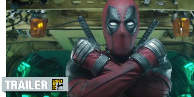 Úplne nový akčný trailer filmu Deadpool 2!