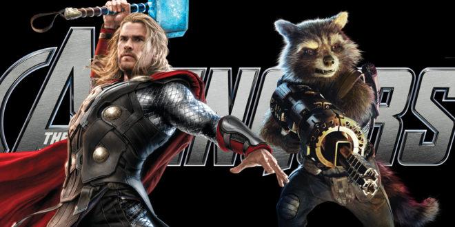 Nový pohľad na Thora a Rocketa v Avengers 4
