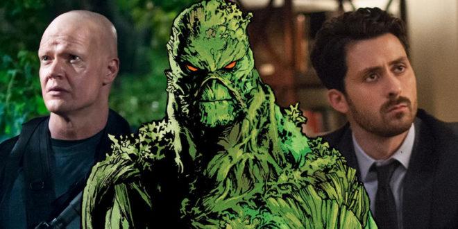 Seriál Swamp Thing obsadzuje hlavnú úlohu a záporáka
