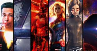 Komiksové filmy roku 2019