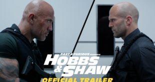 Hobbs & Shaw prichádzajú s druhým šialene akčným trailerom