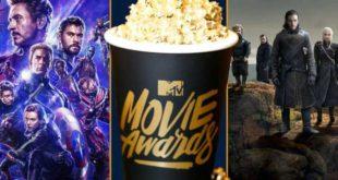 Avengers: Endgame & Game of Thrones ovládli tohtoročné MTV Awards