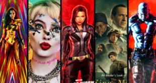 Komiksové filmy roku 2020